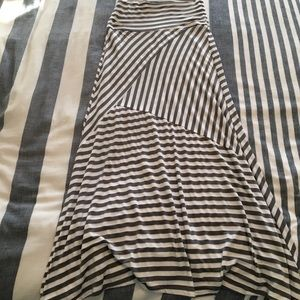Dresses & Skirts - Striped maxi skirt